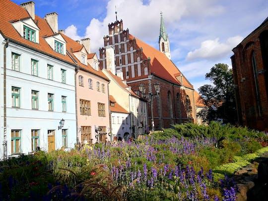 Caminhada autoguiada de descoberta em Riga - o essencial centro histórico e seus segredos