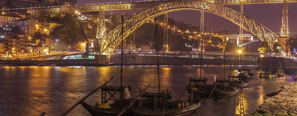 Christmas lights in Porto Segway tour