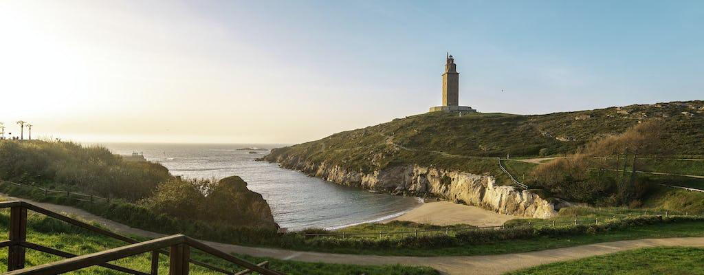 Całodniowa wycieczka do La Coruña i Betanzos z Santiago