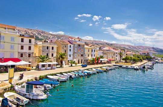 Excursion privée d'une journée à l'île de Pag et aux salines de Nin au départ de Zadar
