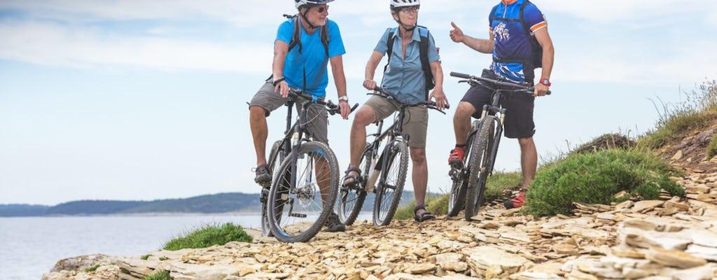 Bike tour to Vrana nature park