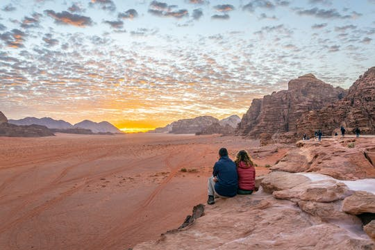 Tour privado de Wadi Rum saindo de Aqaba