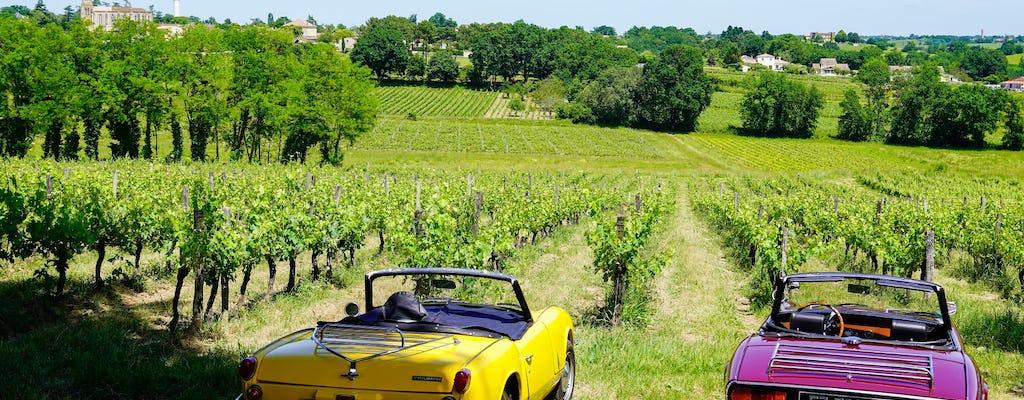 На машине винный тур в Сент-Эмильон