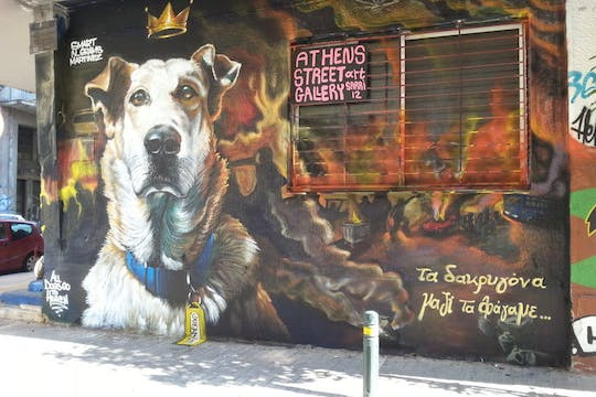 Street art tour of Athens for small groups