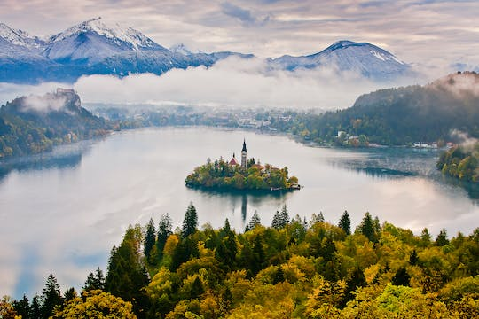 Tour to Ljubljana and Lake Bled from Zagreb