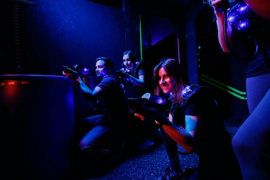 Laser tag at Terra Mars Munich