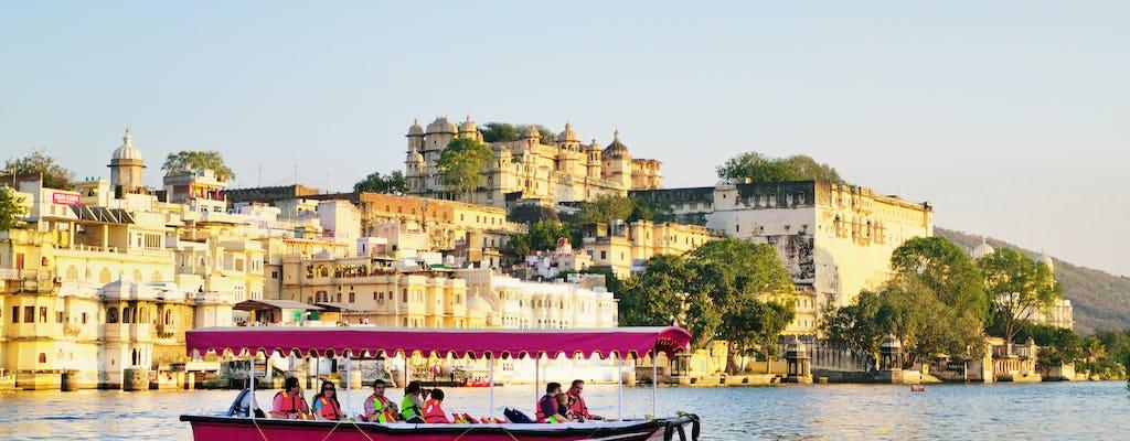 Promenade en bateau sur le lac Pichola à Udaipur