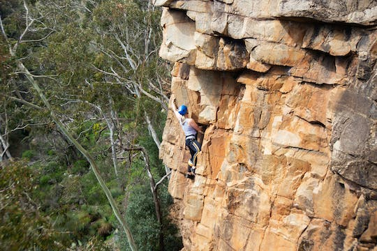 Full-day rock climbing and abseiling