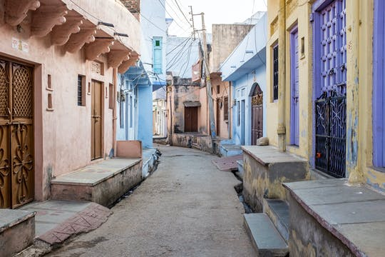 Heritage walk through Udaipur