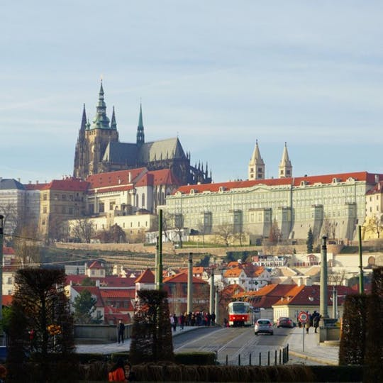 Caminhada autoguiada de descoberta no bairro judeu de Praga