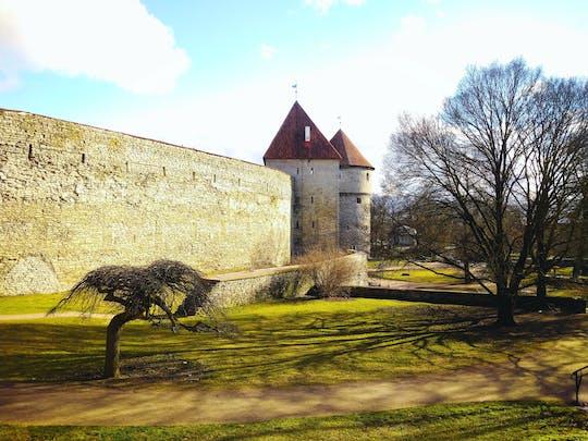 Zelfgeleide ontdekkingswandeling in de legendes van de oude stad in Tallinn