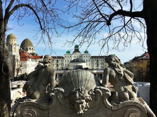 Caminhada autoguiada de descoberta na Colina Gellért de Budapeste