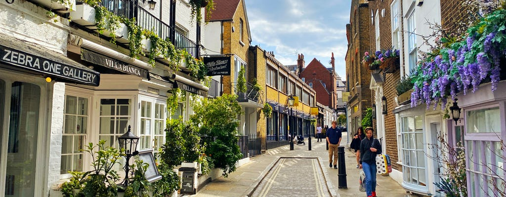 Self-guided Discovery Walk in London's Hampstead neighborhood