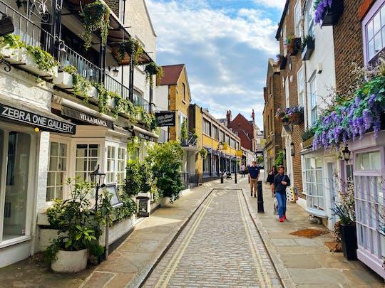 Самонаводящиеся тур в лондонском районе Хэмпстед