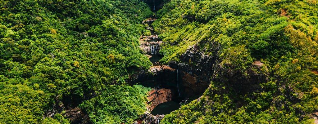 Mauricio 7 cascadas de cañones en las Cataratas del Tamarin