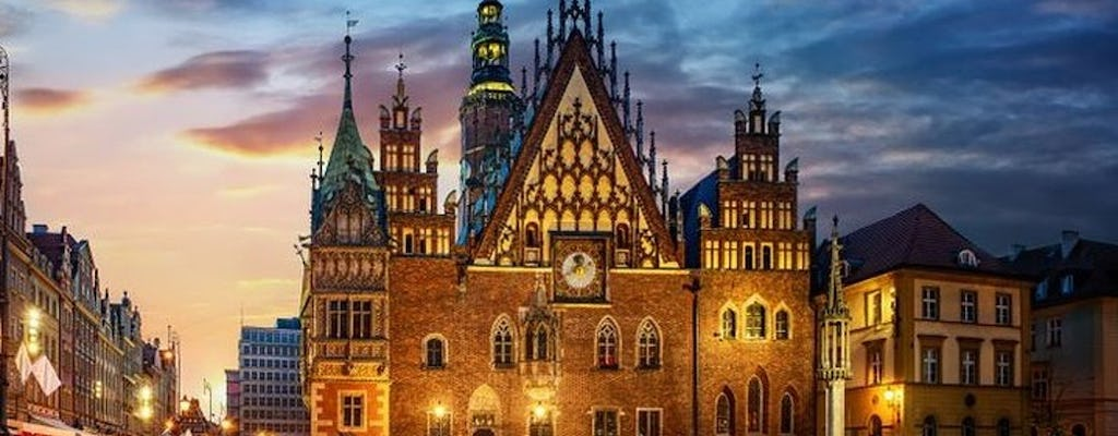 Tour of Wroclaw by night