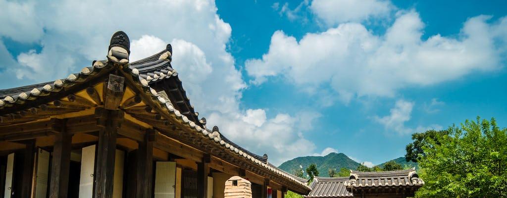 Diner en traditionele show in Korea House