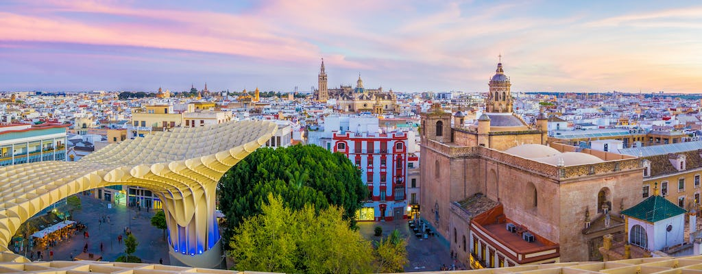 Sevilla rooftops private tour with tapas and flamenco show