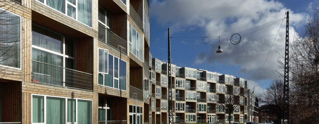 Private architecture and community tour in Nordvest by bike