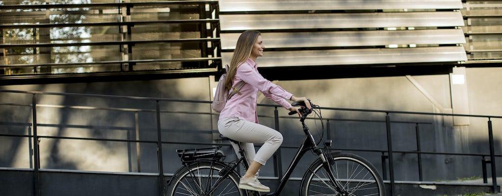 Aluguel de e-bike da cidade para o Parque Nacional Calanques e Marselha