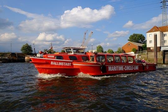 Hop-on hop-off harbor tour with Emigration Museum BallinStadt ticket