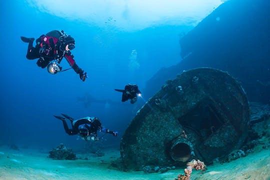 Mergulho em Aqaba para mergulhadores certificados