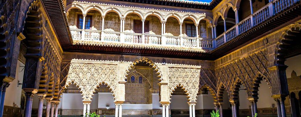 Tour privado de Alcázar e telhados de Sevilha