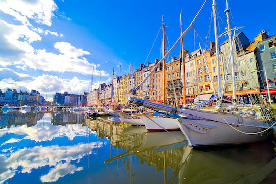 Honfleur & Beuvron-en-Auge shared day trip from Bayeux with Calvados tasting