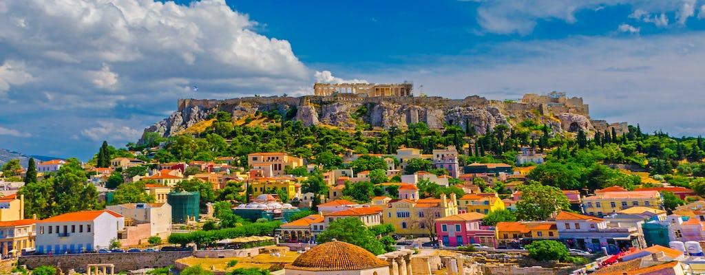 Excursão turística particular a Atenas e Pireu com guia de áudio