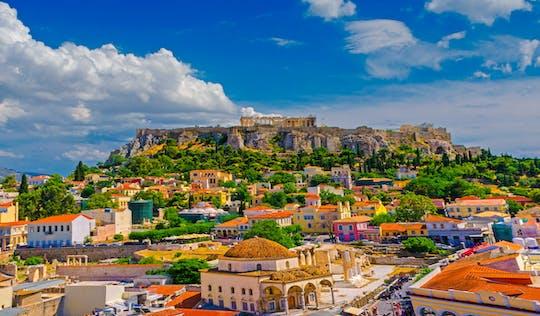 Visita turística privada de Atenas y el Pireo con audioguía