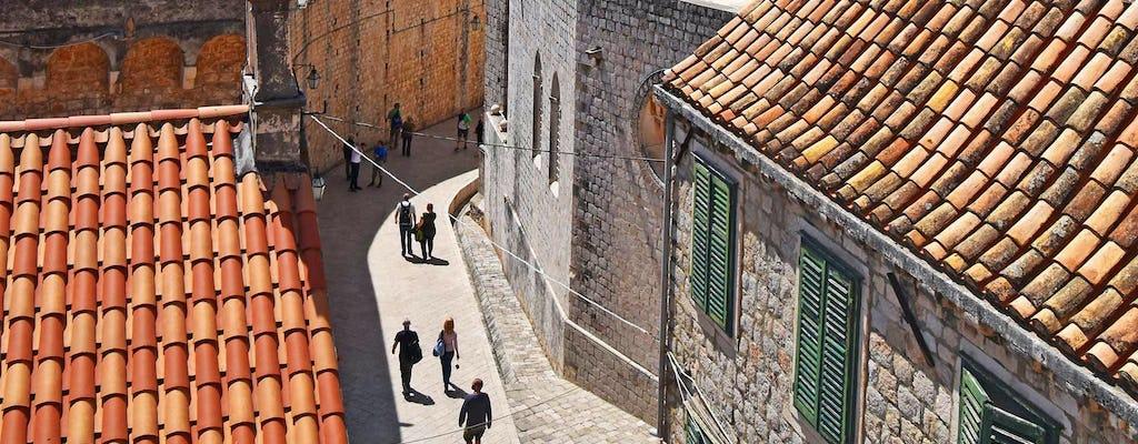 Visite guidée à pied des lève-tôt à Dubrovnik