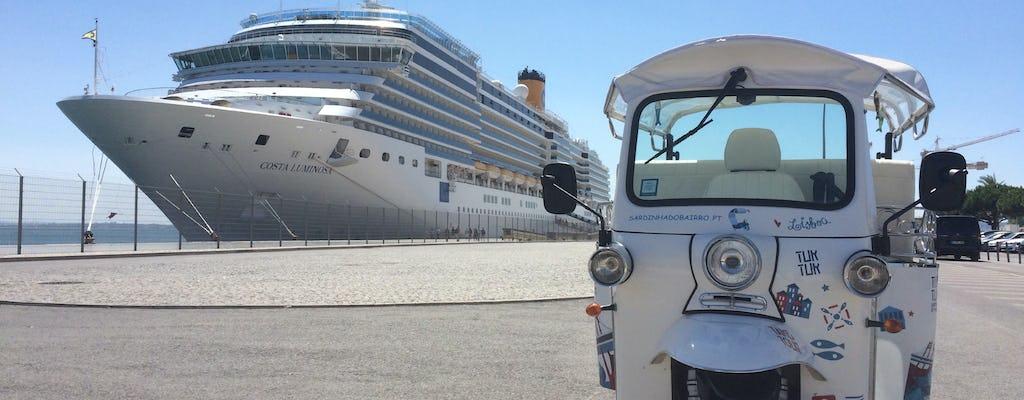 Tour histórico de 2 horas em tuk tuk por Lisboa