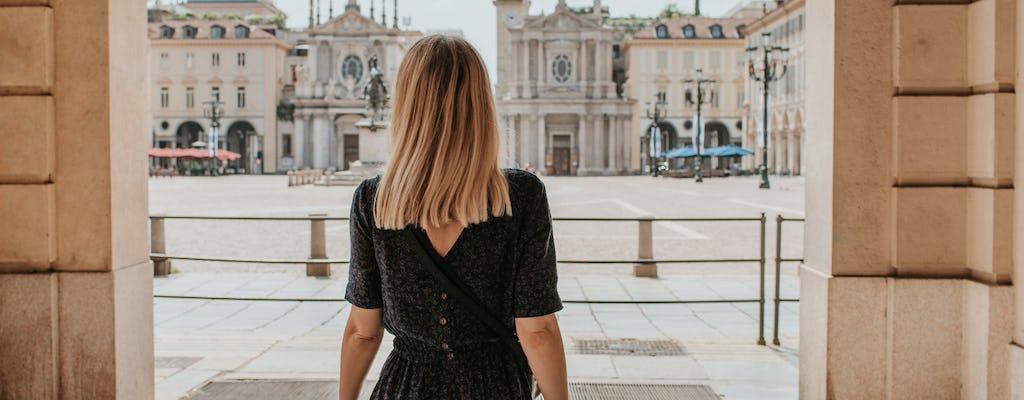 Women of Turin historic center walking tour