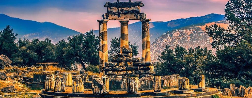 Tour de um dia inteiro por Thermopylae, Meteora e Delphi
