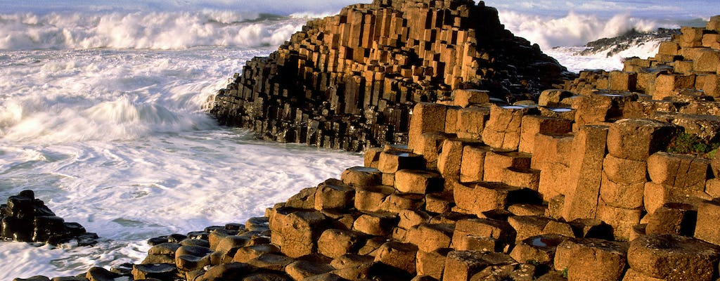 Giant's Causeway and Bushmills Distillery Whiskey tasting from Dublin