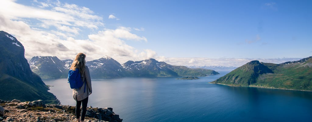 Fjord hiking adventure from Tromso
