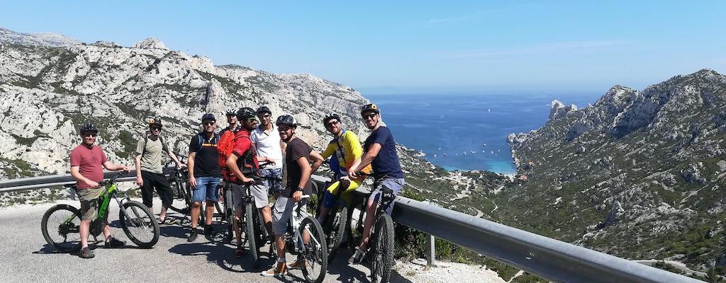 Прокат дорожного велосипеда для национального парка Каланки и Марсель