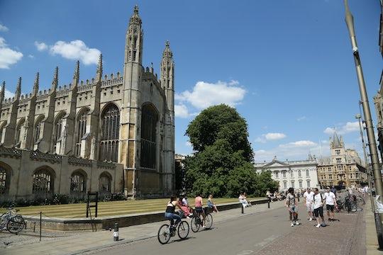 Virtual walking and punting tour of Cambridge
