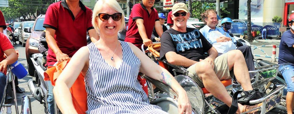 Saigon Cyclo y mercado
