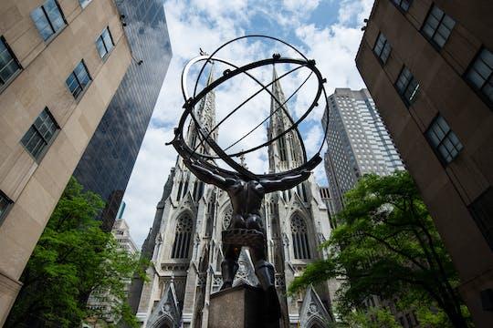 Аудио-тур по собору Святого Патрика без очереди и пешеходная экскурсия по Рокфеллеровскому центру