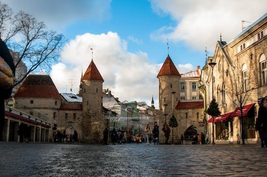 Passeio histórico a pé por Tallinn com um morador