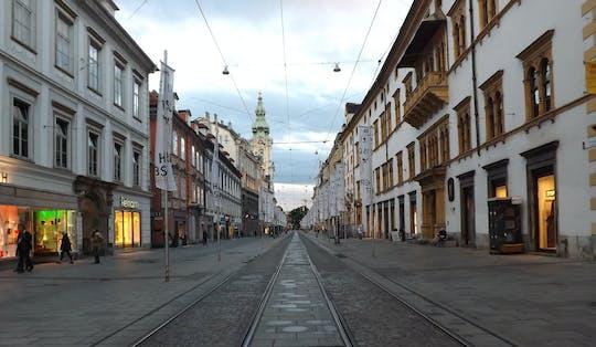 Wycieczka po przeszłości i teraźniejszości Grazu z lokalnymi