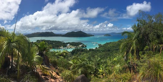 Nature trail Le Ravin de Fond Ferdinand from Praslin