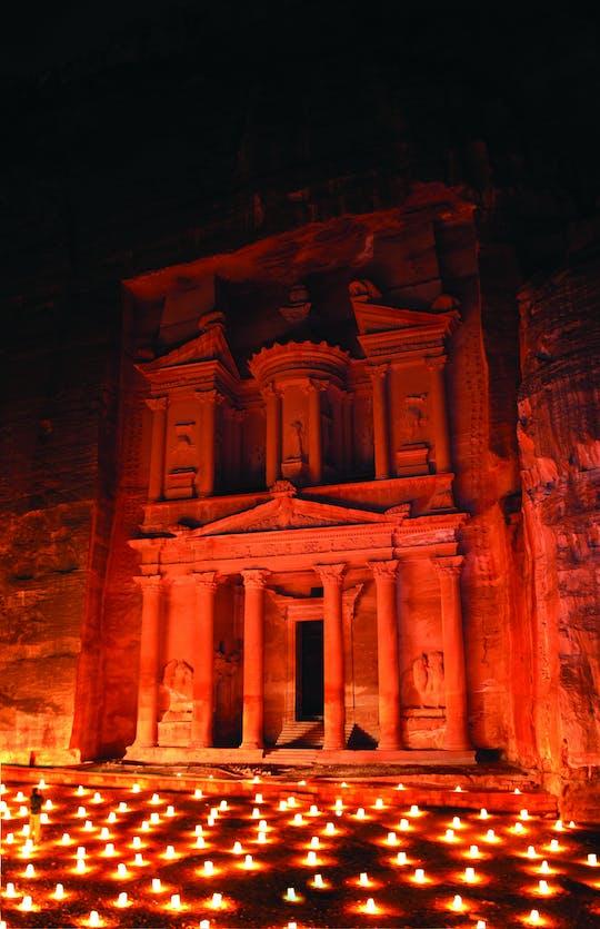 Private Tour von Petra und Petra bei Nacht von Amman