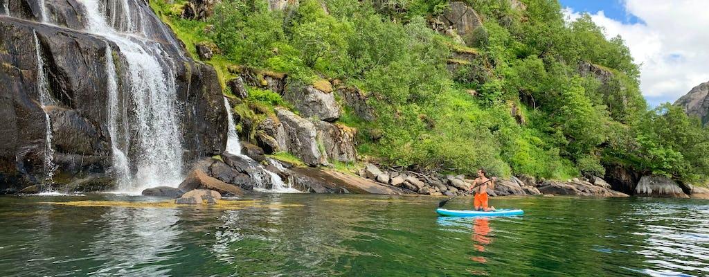 Private Arctic sail safari to Trollfjord