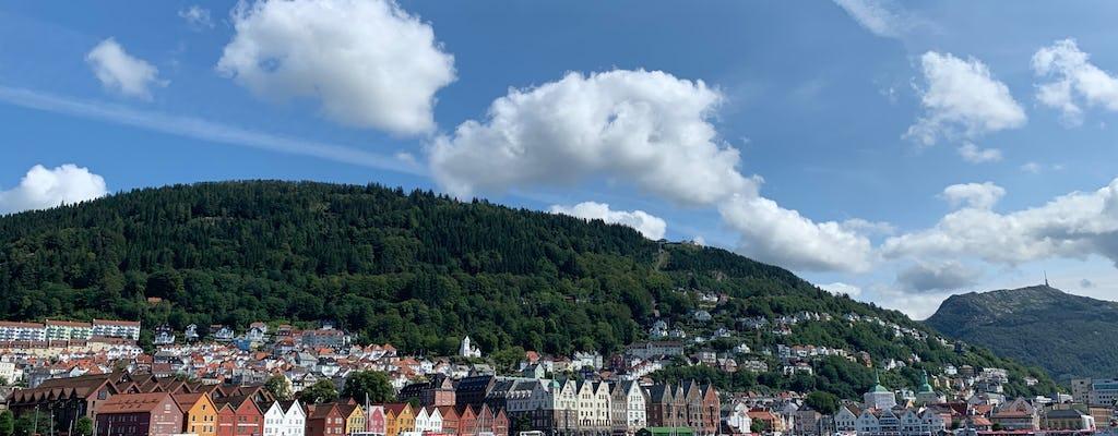 Visite privée à pied de Bergen, hier et aujourd'hui