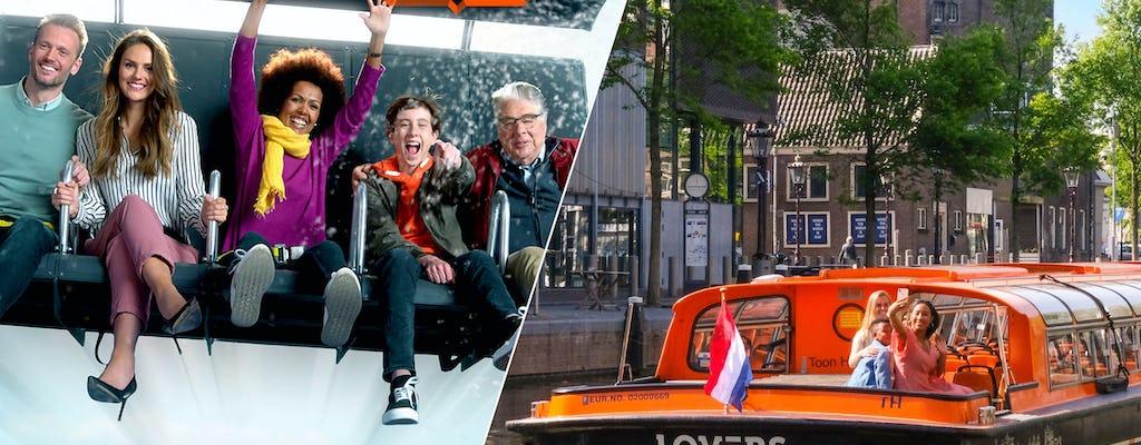 ESTO ES HOLANDA y crucero por los canales de Ámsterdam de 1 hora