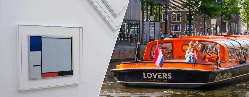 Muzeum Stedelijk i 1-godzinny rejs kanałami Amsterdamu