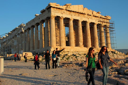 Acropolis site and Parthenon skip-the-line admission tickets