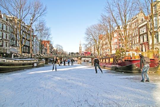 Зимний Амстердам, экскурсия по городу